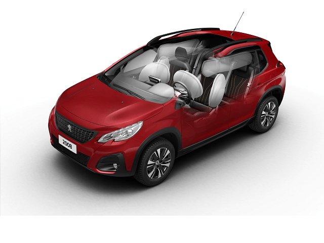 Bancos do SUV Peugeot 2008