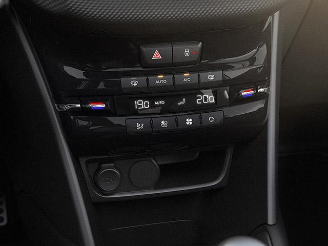 Ar condicionado do Peugeot 208