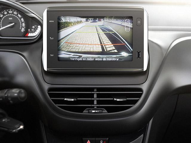 Câmera de ré do Peugeot 208