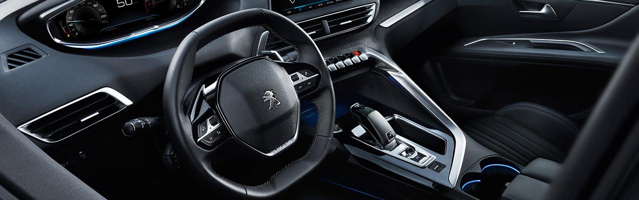 Interior do Peugeot 3008