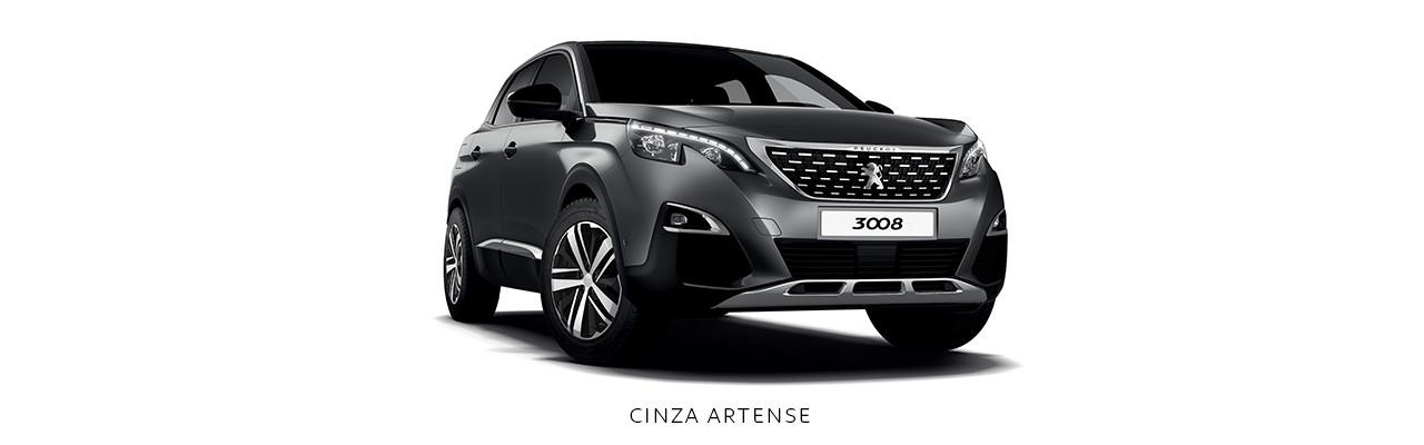 Cores Peugeot 3008 Cinza Artense