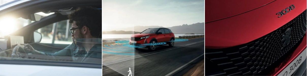 Design do Peugeot 3008