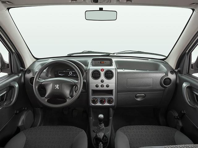 Interior do Peugeot Partner